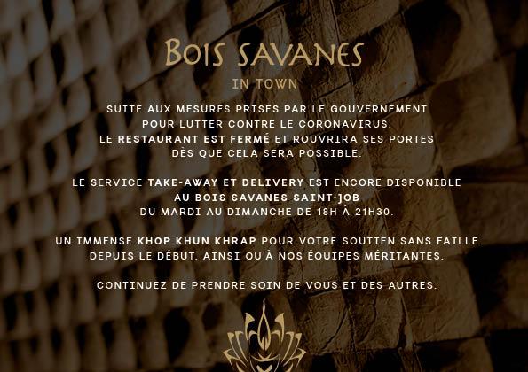 Bois Savanes in Town - POPUP